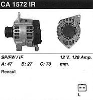 Генератор восст. /120A/ Renault Megane, Scenic 1.9 DTi