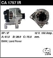 Генератор восст. /150A/ BMW 3 E46, X3 2,0-3,0D
