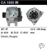 Генератор восст. /150A/ Citroen Berlingo 1.2i, Peugeot 206, Partner 1.4-2.0HDi