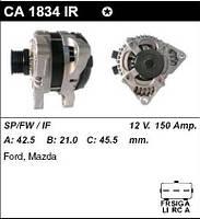 Генератор восст. /150A/ Ford C-MAX, Focus2, Mazda3 1,6-2,0TDCI