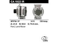 Генератор восст. /150A/ Ford Transit 06- 2,4-3,2 TDCi