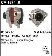 Генератор восст. /150A/ Peugeot 206, Citroen C2, C3 1,4HDI C4 2,0 16V C51,8 16V