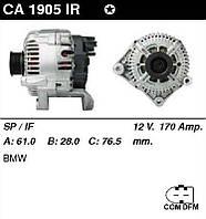 Генератор восст. /170A/ BMW E60,E61 2,0-2,5-3,0D E65 3,0D