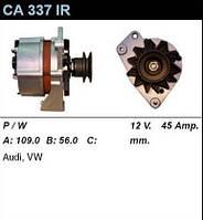Генератор восст. /45A/ Audi 80 1,6-1,9D/TD LT 28-35 2,4D/TD