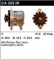 Генератор восст. /45A/ Fiat Ducato -94 1,9D/TD, 2,4D, 2,5D/TD Iveco E0 2,5D