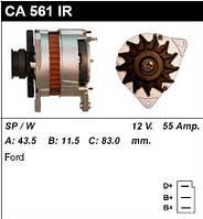 Генератор восст. /55A/ Ford Escort 1,8D/TD