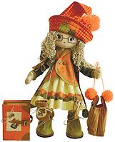 """Набор для шитья игрушки Текстильная каркасная кукла """"Осень"""" К1022"""
