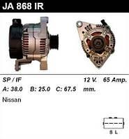 Генератор восст. /65A/ Nissan Micra 1,0-1,3 16V