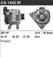 Генератор восст. /70A/ Citroen Berlingo, Fiat Scudo 1,9D (WJZ), 2,0HDI