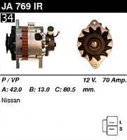Генератор восст. /70A/ Nissan Almera 95-00, Primera 90-95, Sunny 90-00 2,0D