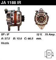Генератор восст. /70A/ Mazda 323 1,3-1,5-1,8 91-98 Xedos 6 1,6 94-