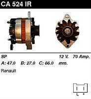 Генератор восст. /70A/ Renault 19,21 Trafic 1,7