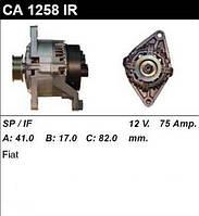 Генератор восст. /75A/ Fiat Ducato 94- 1,9D/TD