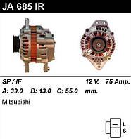 Генератор восст. /75A/ Mitsubishi Pajero I, II, 3,0 88-95