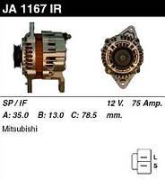 Генератор восст. /75A/ Mitsubishi Galant V 2,0 8V