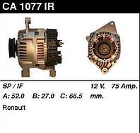 Генератор восст. /75A/ Renault Megane1,4-1,6