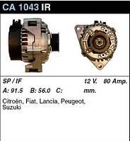 Генератор восст. /80A/ Citroen Berlingo, Fiat Scudo, Peugeot 406,306,Expert 1,9 D