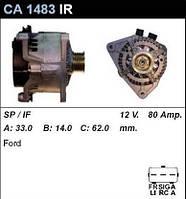 Генератор восст. /80A/ Ford Focus 1,8-2,0
