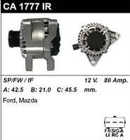 Генератор восст. /80A/ Ford Fusion,  Fiesta 03-, Mazda2 1,4TDCI