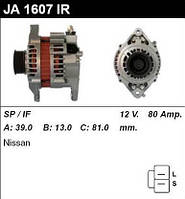 Генератор восст. /80A/ Nissan Almera 1.5-1.8i 00-