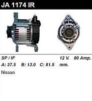 Генератор восст. /80A/ Nissan Primera 1,6 16V