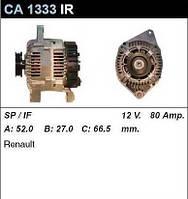 Генератор восст. /80A/ Renault Megane1 1,4-1,6