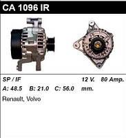 Генератор восст. /80A/ Volvo V40-V70, S40, 850 1,8-2,0-2,0-2,5