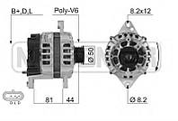 Генератор восст. /85A/ Chevrolet Aveo 1,5, Lacetti 1,6