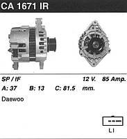 Генератор восст. /85A/ Daewoo Lanos 1,6 16V