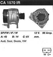 Генератор восст. /90A/ Audi A3, VW Golf IV, Skoda Octavia, VW Sharan 1,9TDI, 1,8T 96-