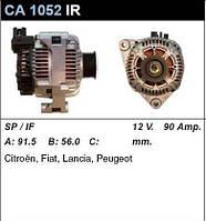Генератор восст. /90A/ Citroen Berlingo 1,8i, Peugeot 406 1,8-2,0