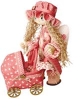 """Набор для шитья игрушки Текстильная каркасная кукла """"Ангелок"""" К1023"""