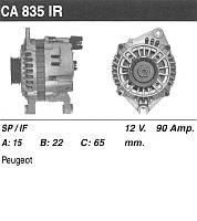 Генератор восст. /90A/ Citroen Peugeot 2.1D 89-