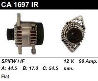 Генератор восст. /90A/ Fiat Doblo 1,9 JTD