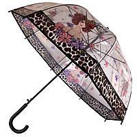 Силиконовый зонт-трость 20022 Girl