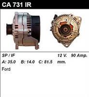 Генератор восст. /90A/ Ford Mondeo -00 1,6-1,8-2,0 16V,