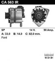 Генератор восст. /90A/ Ford Scorpio 86-94, Sierra 87-93 2.0