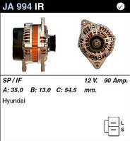Генератор восст. /90A/ Hyundai Accent 93- 1,3-1,5, Lantra 95- 1,5-1,6-1,8-2,0