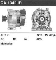 Генератор восст. /90A/ Mercedes Vaneo, A-class 1.4-1.6 97-04