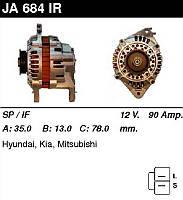 Генератор восст. /90A/ Mitsubishi Sonata II, Colt, Galant 1,8-2,0