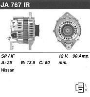 Генератор восст. /90A/ Nissan Maxima J30 3.0 88-94