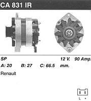 Генератор восст. /90A/ Renault 19, 21 1.7-1.8i 92-