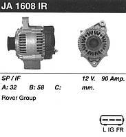 Генератор восст. /90А/ Rover 75 1.8 99-05