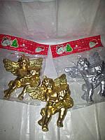Новогоднее елочое украшение-ангел