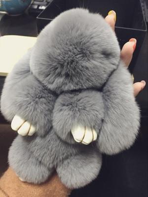 Меховой Кролик подвеска на сумку, брелок Kopenhagen Fur - «Качество-Гарант» в Киеве