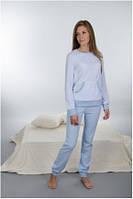 Пижама детская, подростковая велюровая для девочки хлопок Wiktoria W 133