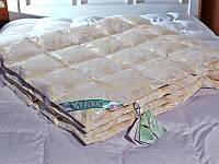 Стеганое одеяло 200*220см 50% пух 50% перо ЭкоПух, фото 1