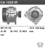 Генератор /120A/ VW LT 28-35-46 2.5D, T4