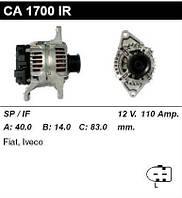 Генератор восст. /110A/ Fiat Ducato 02-, 06- Iveco E3 2,3JTD