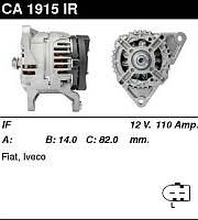 Генератор восст. /110A/ Fiat Ducato 06- 3,0MJet
